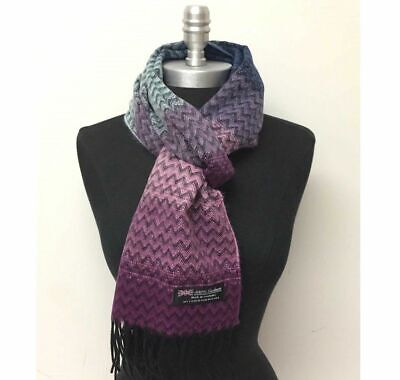 New Fashion Women's Winter Warm 100%Cashmere Scarf Wrap SCOTLAND,Wine/Gray/Black