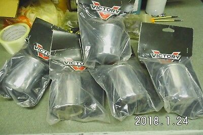5 Oem Chrome Victory Motorcycle Oil Filters 2875246