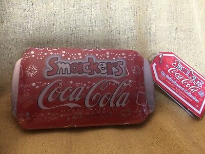 Coca-Cola Collectible Tin With 6 Soda Flavored Lip Smackers