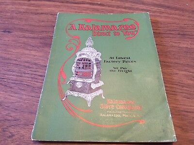1906 Kalamazoo Stove Co. Michigan.156 pages FULL of Pictures & Info.