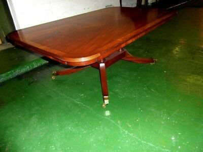 Mahogany Regency Style Large Coffee Table