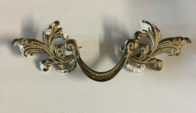 """Vintage Pull French Provincial  Keeler 7 1//8/"""" Long by 3 1//2/"""" Center Rare #130"""