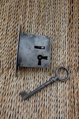 Antique Vintage Box Door Lock Storage Room Office Furniture Cupboard 27-31
