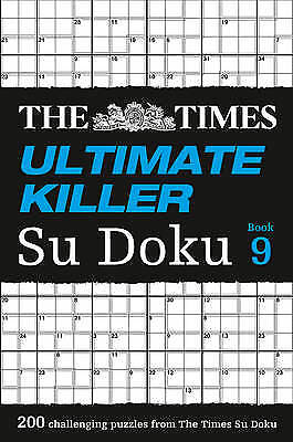 The Times Ultimate Killer Su Doku Book 9, The Times Mind Games