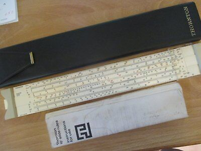 SLIDE RULER by  Thornton Antique Measuring Tool