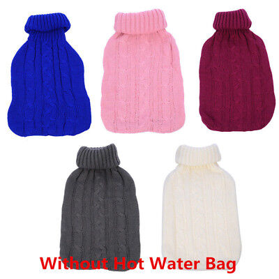 2L Warm Keeping Knitted Bag Cover Heated Coldproof Case NO Hot Water Bottle