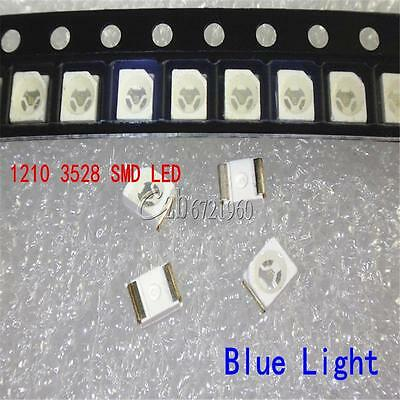 100Pcs 3528 1210 SMD SMT PLCC-2 LED Light DIY 20mA Super Bright