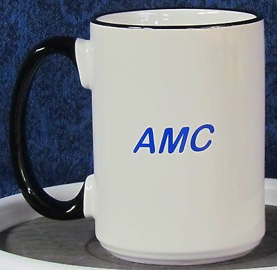 Independents Day - AMC on a 15 oz Coffee Mug with Black Handle & Rim