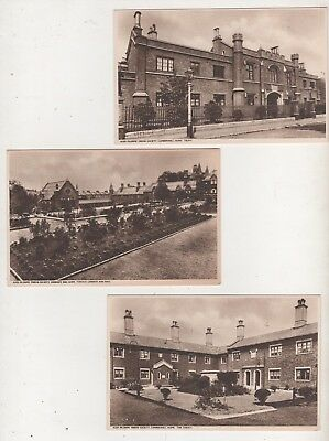 Lot of 3 Post cards- Aged Pilgrims' Friend Society- Ludgate Hill London