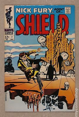 Nick Fury Agent of SHIELD (1st Series) #7 1968 VG/FN 5.0