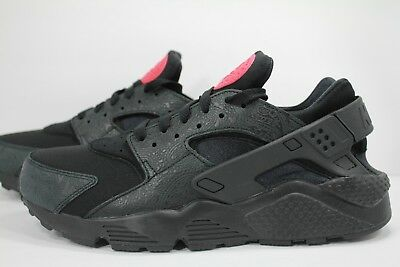 Nike Air Huarache Run F Black/black-University Red Ao3153-001