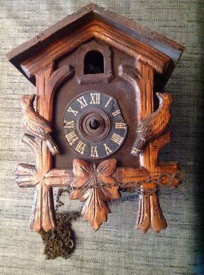 Antique  Black Forest Cuckoo Clock for Spares/Repairs
