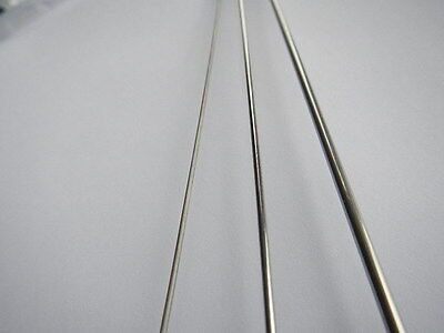 316 stainless steel bar rod shaft 1mm 1.5mm 2mm 2.5mm 3mm 4mm 4.75mm upto 300mm