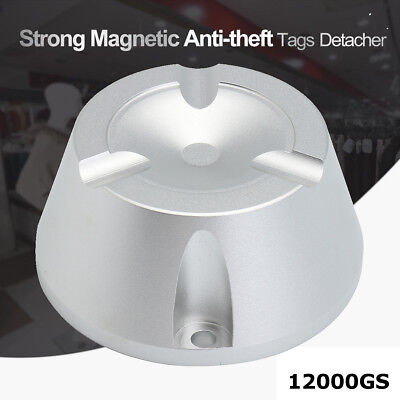 12000GS Magnetic Tags Remover Detacher EAS Security System 8.2MHz RF Anti-theft