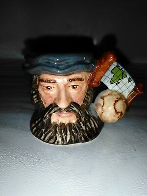 # *very Rare* Royal Doulton Character Jug: Vasco Da Gama D7083 Tiny 1.5""