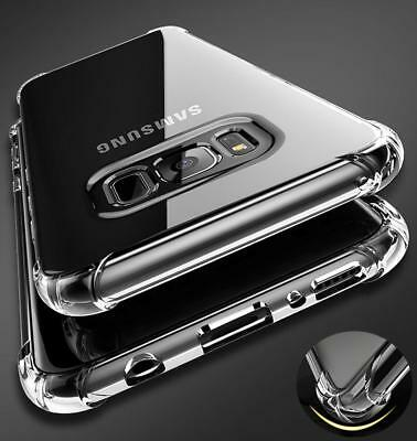 Shockproof Clear Phone Case For Samsung Galaxy Note8 9 S8 Plus S7edge Soft Cover