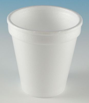 Wincup 6 oz. Disposable Cold/Hot Cup, Foam, White, PK 1000 - 6C6W