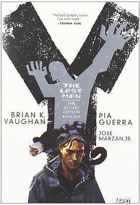 Vertigo Sci-Fi Comic Y - The Last Man #1 (Deluxe Edition) HC SW