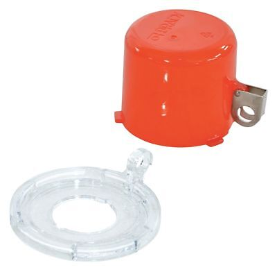 Brady Push Button Lockout, Red, 55mm H x 7mm W, Plastic - 130821