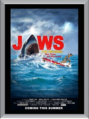 Jaws The Revenge A1 To A4 Size Poster Prints