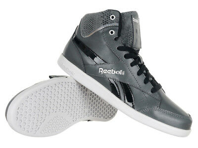 REEBOK FABULISTA MID II Women's Black Leather Sports Shoes