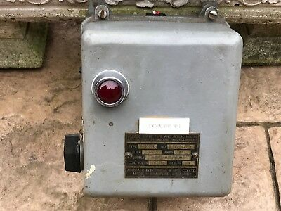 Cast Iron Industrial Airedale Electrical MFG Co Extractor No 1 Switch Steampunk