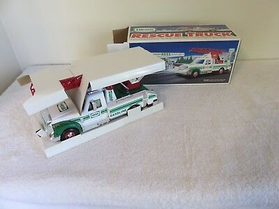 1994 Hess Rescue Truck - New (NIB), Never Played With or Displayed