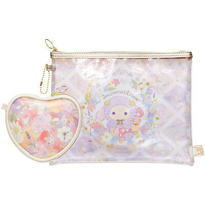 Sentimental Circus Clear Pouch Set Sleeping Forest Sheep San-X Japan