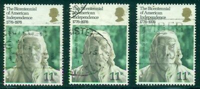 Gb Sg1005, Scott # 785, Used, 3 Stamps, Great Price!