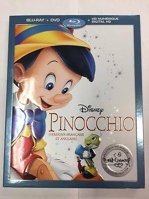 Disney's Pinocchio (Blu-ray/DVD & Digital HD, 2017)  ***BRAND NEW SEALED***