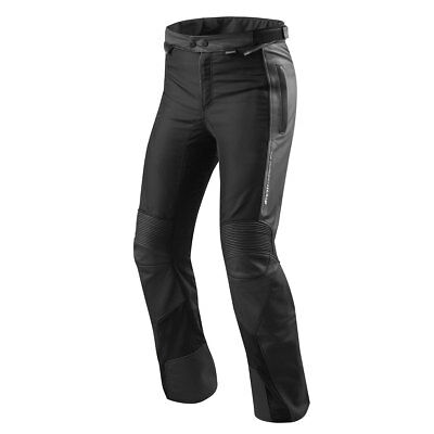 Rev'it! Ignition 3 Black Motorrad Motorcycle Touring Long Leg Trouser All Sizes