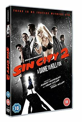 Sin City 2 A Dame To Kill For DVD (Bruce Willis) Disc Only No Case Or Cover