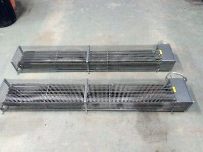 Pair of FAW Hazardous Area Air Warmers 3kW Paint Room Heaters 240v FAW3000