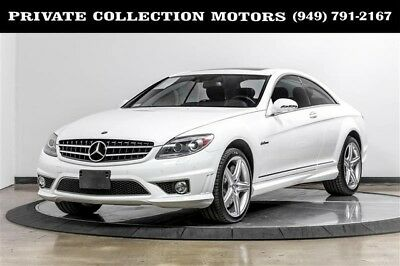 2008 Mercedes-Benz CL-Class Base Coupe 2-Door 2008 Mercedes-Benz CL63 AMG 2 Owner Clean Carfax Low Miles Well Kept
