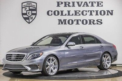 2015 Mercedes-Benz S-Class  2015 Mercedes Benz S550 1 Owner CPO Warranty Well Kept Highly Optioned
