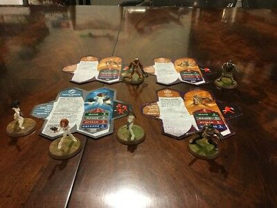 Heroscape Gladiators And Agents Wave 5 Thora's Vengeance Complete Expansion Set