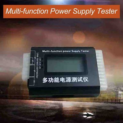 Digital LCD PC Computer PC Power Supply Tester 20/24 Pin SATA HDD Testers  MG