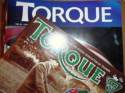 TORQUE  RAT Riders Association of Triumph Mitglieder Magazin Nr. 19 - 43