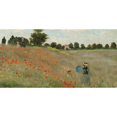 Stampa su Tela Claude Monet Coquelicots Canvas Prints