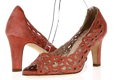 outlet store fashion styles utterly stylish AQUATALIA BY MARVIN K Womens Coral Suede Cut Out Open Toe ...
