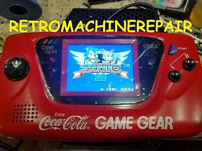 Sega Game Gear McWill LCD+HDMI OUT COMPLETE MOD (INSTALL ONLY) Please Read!