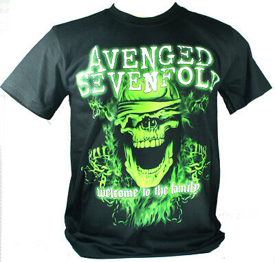 Avenged Sevenfold Small Size S New! T-Shirt (Welcome To The Family A7X) 1261