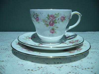 Duchess 'june Bouquet' China Trio - Cup Saucer Plate - Vintage High Tea - Vgc