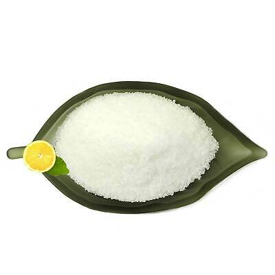 2Kg Citric Acid Food Grade Anhydrous   2x1Kgs Resealable Bags