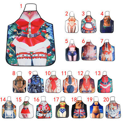 Novelty BBQ Aprons Funny Saucy Cooking Kitchen Apron Gift Christmas Girl