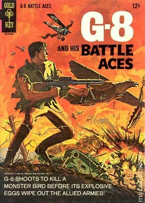 G-8 and His Battle Aces #1 1966 VG/FN 5.0 Stock Image Low Grade