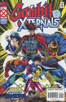 Gambit and the X-Ternals #1 1995 FN Stock Image