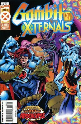 Gambit and the X-Ternals #3 1995 VF Stock Image