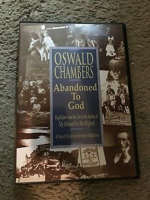 Oswald Chambers : Abandoned to God: the Life Story of the Author of My Utmost...
