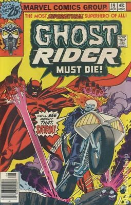 Ghost Rider (1st Series) #19 1976 VG- 3.5 Stock Image Low Grade